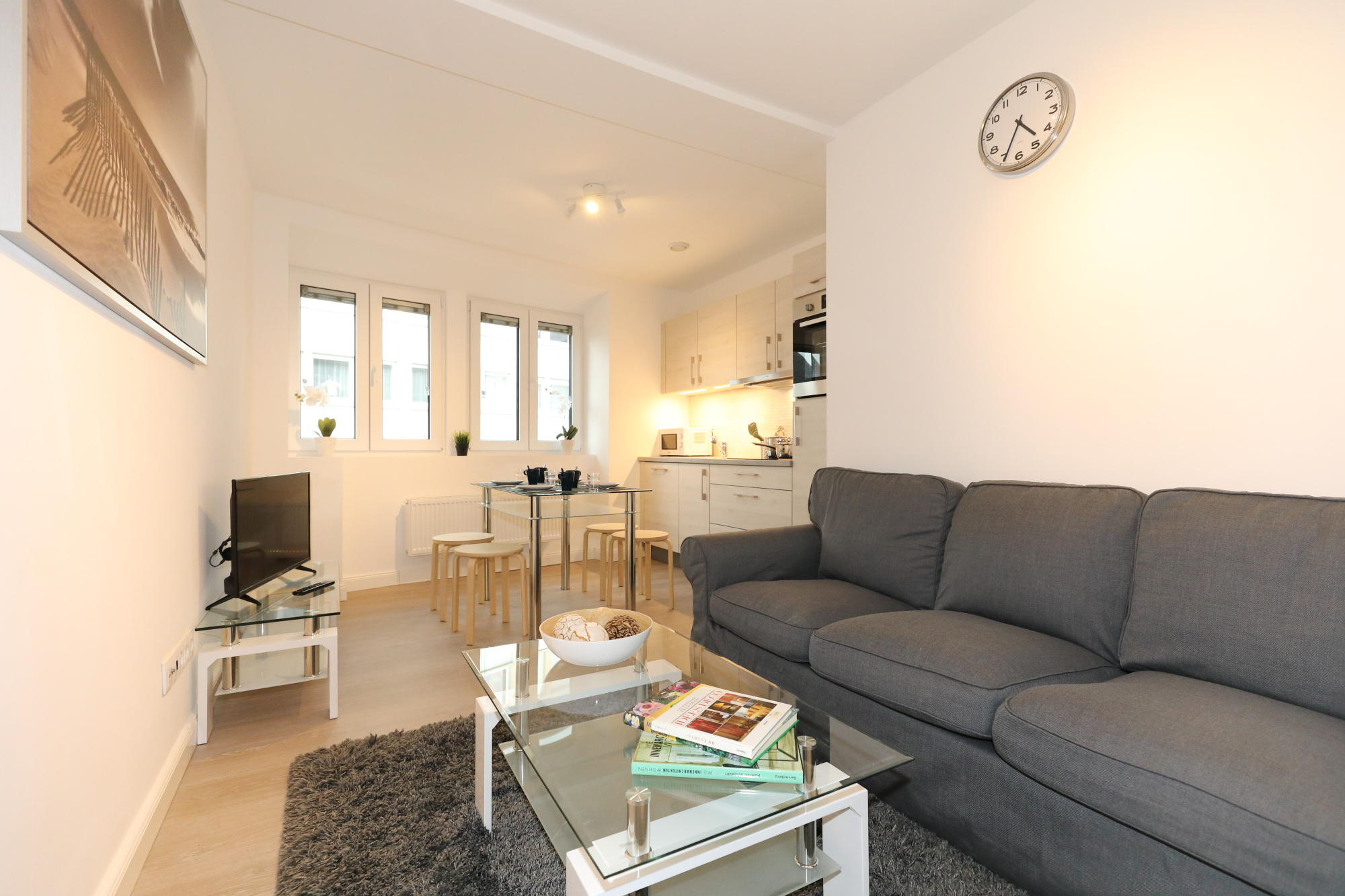 Charming 1 bedroom apartment in Bonnevoie